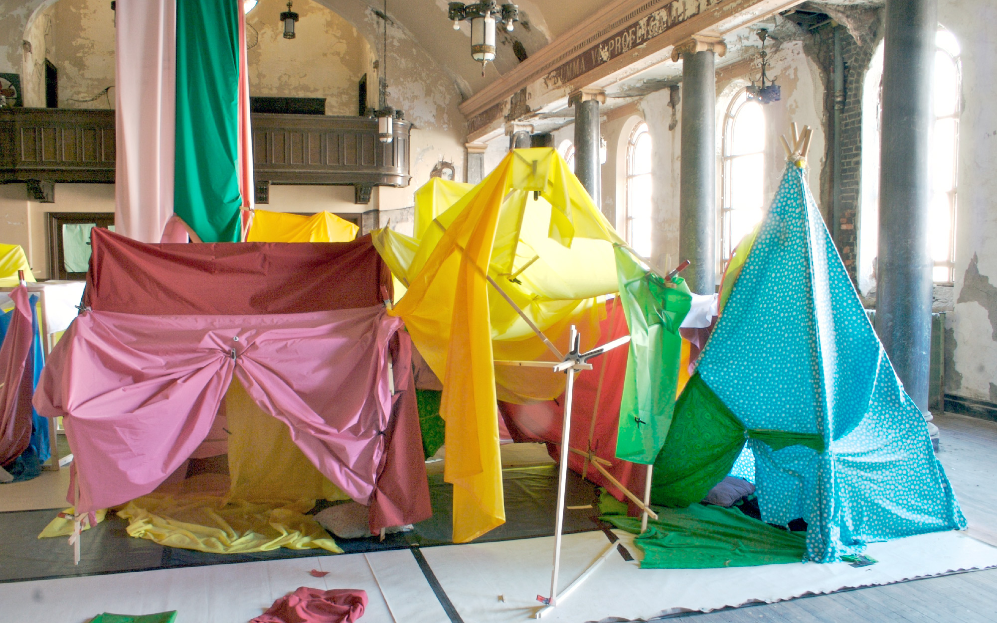 ... gallery-image ... & We Are Architects u203a Building One: Blanket Fort City